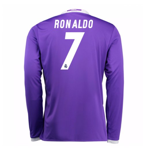 2016-17 Real Madrid Away Shirt (Ronaldo 7) - Kids
