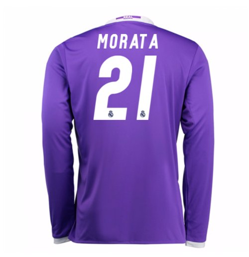 2016-17 Real Madrid Away Shirt (Morata 21) - Kids