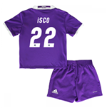 2016-17 Real Madrid Away Baby Kit (Isco 22)