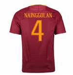 2016-17 Roma Home Shirt (Nainggolan 4) - Kids
