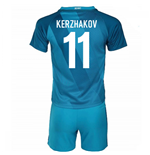 2016-17 Zenit St Petersburg Home Mini Kit (Kerzhakov 11)