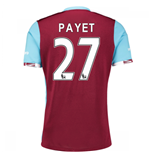 2016-17 West Ham Home Shirt (Payet 27)
