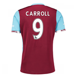 2016-17 West Ham Home Shirt (Carroll 9)