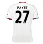 2016-17 West Ham Away Shirt (Payet 27) - Kids