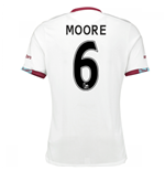 2016-17 West Ham Away Shirt (Moore 6) - Kids