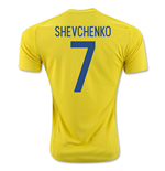 2016-17 Ukraine Home Shirt (Shevchenko 7)