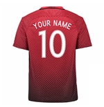 2016-17 Turkey Home Shirt (Your Name)