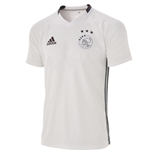 2016-2017 Ajax Adidas Training Shirt (White) - Kids