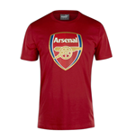 2016-2017 Arsenal Puma Crest T-Shirt (Red) - Kids