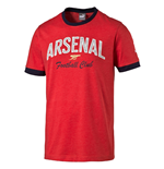 2016-2017 Arsenal Puma Fan Slogan Tee (Red) - Kids