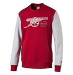 2016-2017 Arsenal Puma Fan Sweat (Chilli Pepper) - Kids