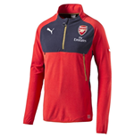 2016-2017 Arsenal Puma Training Fleece (Red)