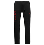 2016-2017 AS Roma Nike Core Fleece Pants (Black)