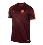 2016-2017 AS Roma Nike Pre-Match Training Shirt (Red)