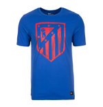 2016-2017 Atletico Madrid Nike Crest Tee (Blue)