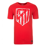 2016-2017 Atletico Madrid Nike Crest Tee (Red) - Kids