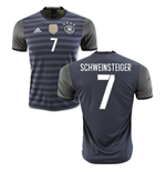2016-2017 Germany Away Shirt (Schweinsteiger 7)