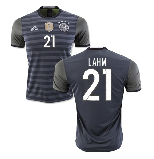 2016-2017 Germany Away Shirt (Lahm 21)
