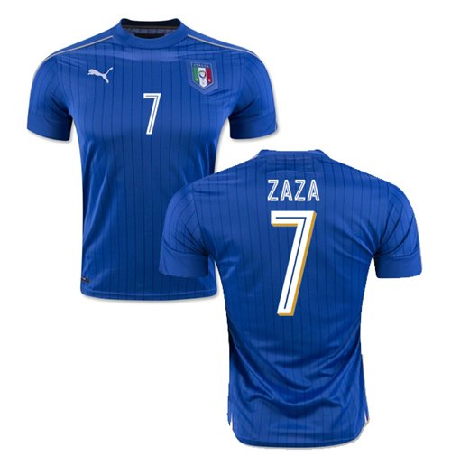 2016-2017 Italy Puma Home Shirt (Zaza 7) - Kids