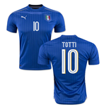 2016-2017 Italy Puma Home Shirt (Totti 10) - Kids