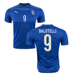 2016-2017 Italy Puma Home Shirt (Balotelli 9)
