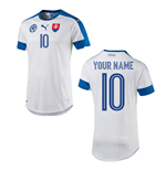 2016-2017 Slovakia Home Shirt (Your Name)