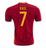 2016-2017 Spain Home Shirt (Raul 7) - Kids