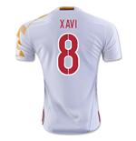 2016-2017 Spain Adidas Away Shirt (Xavi 8) - Kids