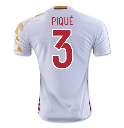 2016-2017 Spain Adidas Away Shirt (Pique 3)