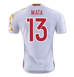 2016-2017 Spain Adidas Away Shirt (Mata 13)