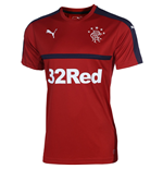 2016-2017 Rangers Puma Training Shirt (Chilli Pepper)