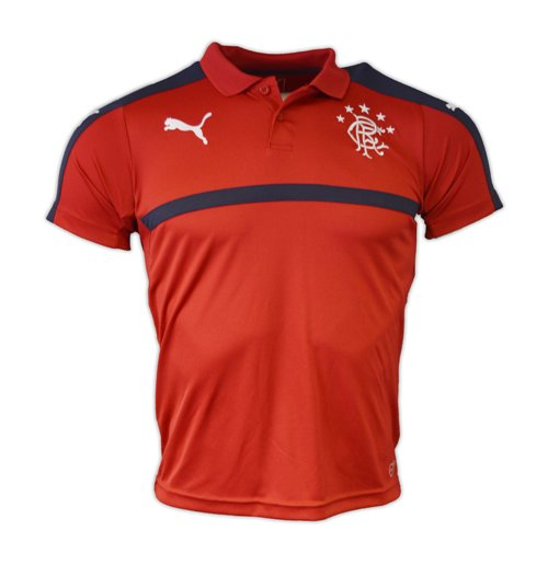 2016-2017 Rangers Puma Polo Shirt (Chilli Pepper) - Kids