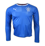 2016-2017 Rangers Puma Home Long Sleeve Shirt (Kids)