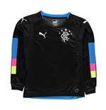2016-2017 Rangers Puma Home Goalkeeper Shirt (Black) - Kids