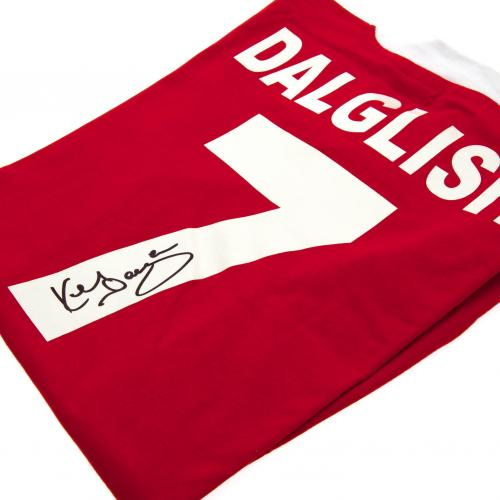 Liverpool F.C. Dalglish Signed Shirt
