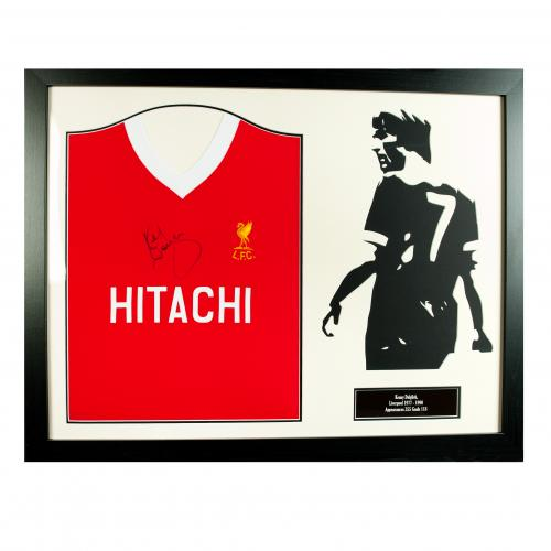 Liverpool F.C. Dalglish Signed Shirt Silhouette