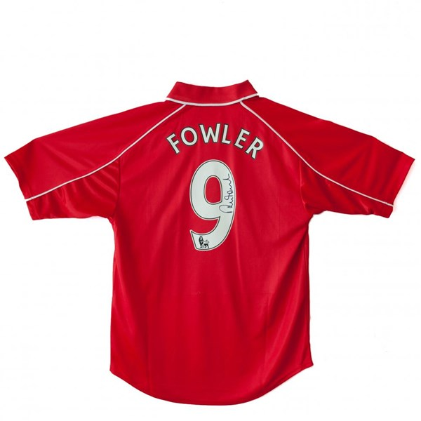 Liverpool F.C. Fowler Signed Shirt
