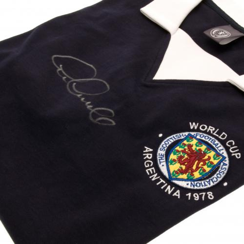 Scotland F.A. Gemmill Signed Shirt
