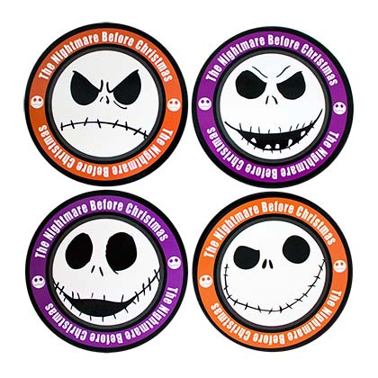Nightmare Before Christmas Coasters