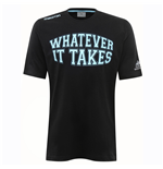 2016-2017 Glasgow Warriors Rugby Leisure Cotton Tee (Black)