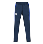 2016-2017 Scotland Macron Rugby Microfibre Travel Pants (Navy) - Kids