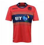 2016-2017 Scotland 7s Poly Away Rugby Shirt (Kids)