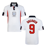 Score Draw England World Cup 1998 Home Shirt (Shearer 9)