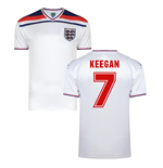 Score Draw England World Cup 1982 Home Shirt (Keegan 7)