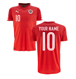 2016-2017 Austria Home Shirt (Your Name)