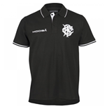 2016-2017 Barbarians Pique Polo Shirt (Black)