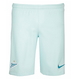 2016-2017 Zenit Nike Away Shorts (Glacier Blue)