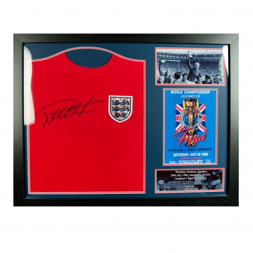 England F.A. Sir Geoff Hurst Signed Shirt (Framed)
