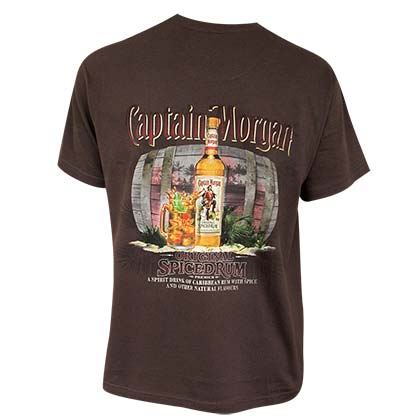 CAPTAIN MORGAN Spiced Rum Tee Shirt
