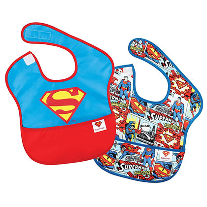 SUPERMAN Bib Set